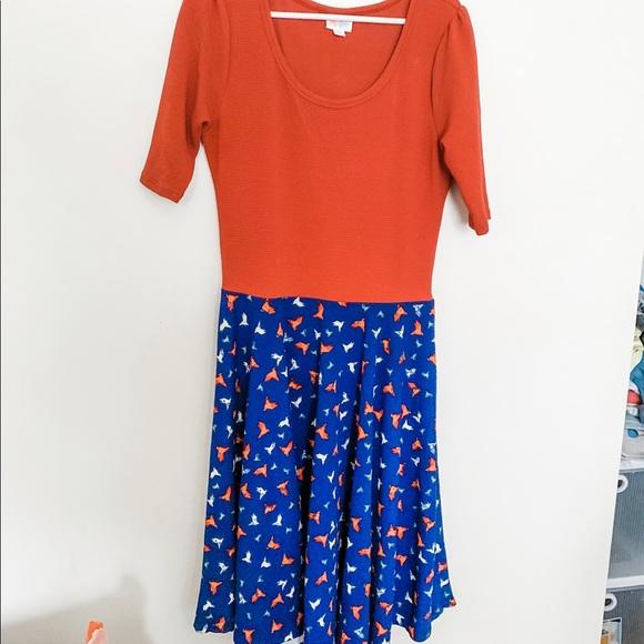 LuLaRoe Dresses & Skirts - Lularoe Nicole dress, size large